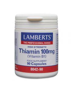 Lamberts Thiamin Vitamin B1 100mg 90 caps