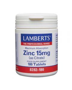 Lamberts Zinc Citrate 15 mg 90 tabs