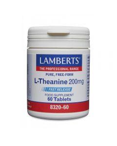 Lamberts L-Theanine 200 mg 60 tabs