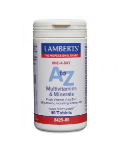 Lamberts A to Z Multivitamins & Minerals 60 tabs