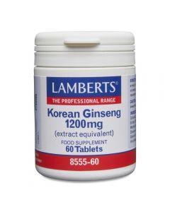 Lamberts Korean Ginseng 1200 mg 60 tabs