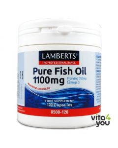 Lamberts Pure Fish Oil 1100 mg 120 caps