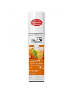 Lavera Deodorat spray with organic Orange & Sea Buckthorn 75 ml