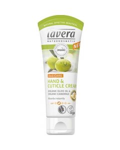 Lavera 2 in 1 Hand & Cuticle cream with Organic Olive oil & Chamomile 75 ml