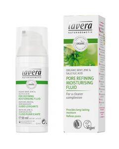 Lavera Pore Refining moisturising fluid Organic Mint, Zinc & Salisylic acid 50 ml