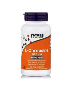 Now L-Carnosine 500 mg 50 caps