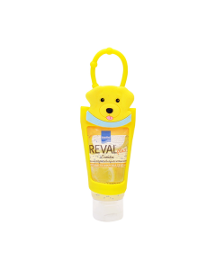 Intermed Reval Plus Antiseptic Hand Gel Lemon 30 ml & Θήκη Σκυλάκι