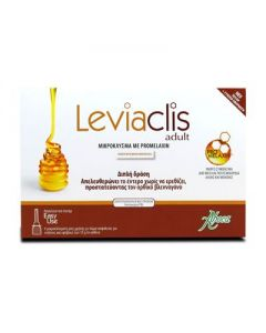 Aboca Leviaclis Adult 6 suppositories of 10 gr