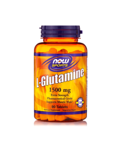 Now Sports L-Glutamine 1500 mg 90 tabs