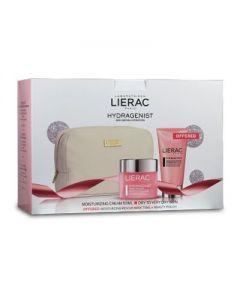 Lierac Hydragenist Moisturizing Cream dry very dry skin 50 ml & Masque SOS Hydratant 75 ml