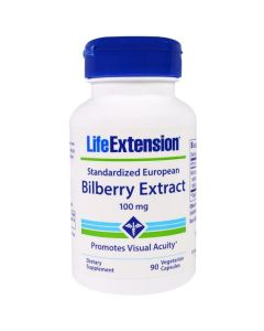 Life Extension Bilberry Extract 100 caps