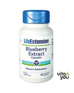 Life Extension Blueberry Extract with 60 veg.caps