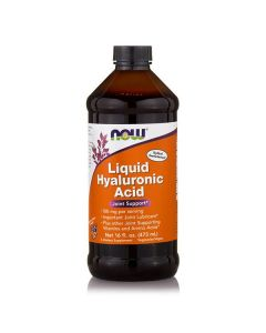 Now Liquid Hyaluronic Acid 100 mg 473 ml