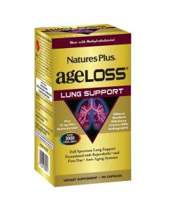 Nature's Plus AgeLoss Lung Support 90 caps