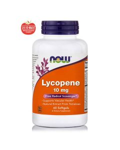 Now Lycopene 10 mg 60 softgels