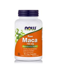 Now Maca 750 mg raw 90 vcaps
