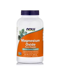Now Magnesium Oxide powder 227 gr