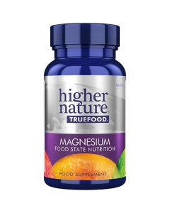 Higher Nature True Food Magnesium Food State Nutrition 30 tabs
