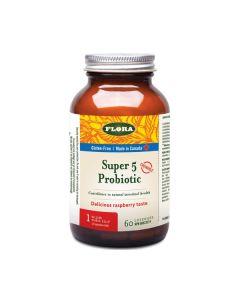 MedMelon Flora Super 5 Probiotic Chewable 60 Lozenges