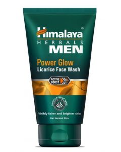 Himalaya Men Power Glow Licorice Face Wash normal skin 100 ml