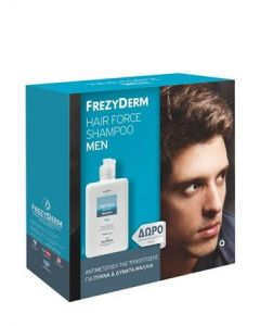 Frezyderm Hair Force Shampoo Men 200 ml & 100 ml