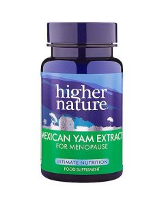 Higher Nature Mexican Yam Extract for Menopause 30 caps