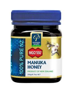 Manuka Health Μέλι Manuka 550+ 250 gr