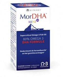 Minami MorDHA Mini 3+ 60 softgels