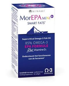 Minami MorEPA Mini 6+ Smart Fats 60 softgels