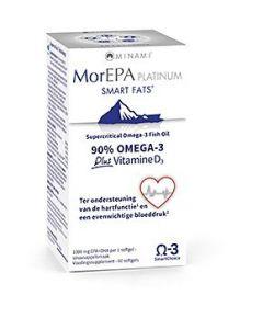Minami MorEPA Platinum Smart Fats plus Vitamin D3 60 softgels