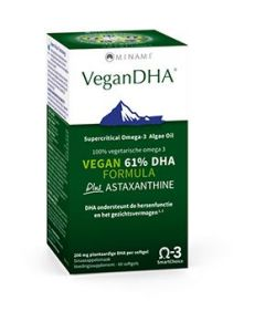 Minami Vegan High-DHA Formula plus Astaxanthin 60 softgels