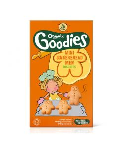 Organix Goodies mini Gingerbread Biscuits 5 x 25 gr
