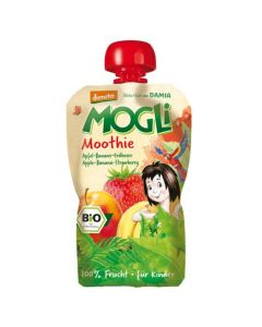 Mogli Moothie Apple Banana Strawberry 100 gr