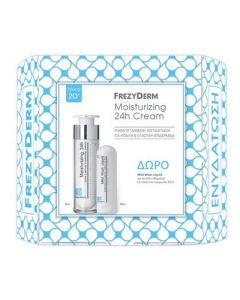 Frezyderm Moisturising 24h cream 50 ml & Mild wash liquid 80 ml