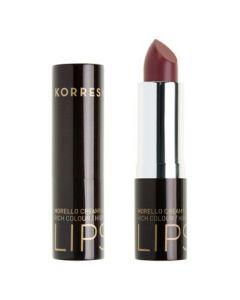 Korres Morello Lipstick 23 natural purple 3.5 gr
