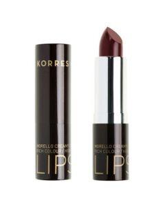 Korres Morello Creamy Lipstick 59 Burgundy Red 3.5 gr