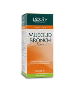 DioCare Mucolid Bronch syrup 200 ml
