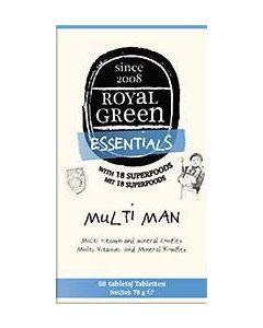 Royal Green MultiMan 60 caps
