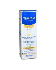 Mustela Dry Skin Nourishing Cream with Cold Cream Face 40 ml