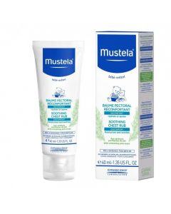 Mustela Soothing Chest Rub 40 ml