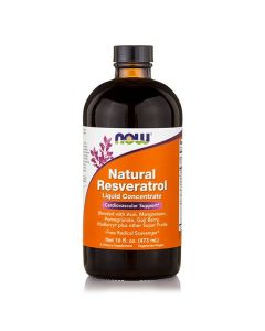 Now Natural Resveratrol Liquid Concentrate 150 mg 473 ml