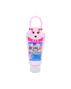 Intermed Reval Plus Antiseptic Hand Gel Natural 30 ml & Θήκη Σκυλάκι