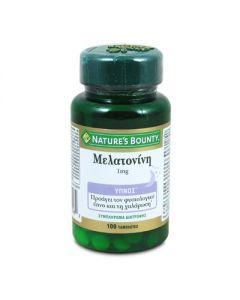 Nature's Bounty Μελατονίνη 1 mg 100 tabs