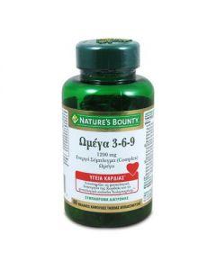 Nature's Bounty Omega 3-6-9 1200 mg 60 softgels