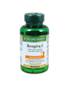 Nature's Bounty Vitamin C 1000 mg with Rose Hips 60 tabs