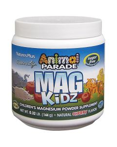 Nature's Plus Animal Parade Mag Kidz powder cherry flavour 144 gr