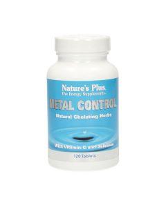 Nature's Plus Metal Control Natural Chelating Herbs with Vitamin C & Selenium 120 tabs