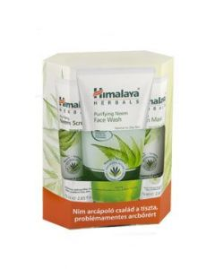 Himalaya Σετ Herbals Purifying Neem Scrub 75ml & Face Wash 150 ml & Mask 75 ml