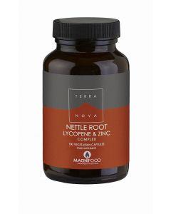 Terra Nova Lycopene Nettle Zinc Root Prostate Support 100 veg tabs