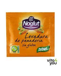Santiveri Noglut gluten free baking yeast  6 sachets x 11 gr